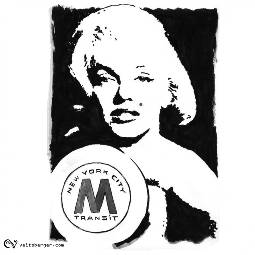 Marilyn Monroe by veitsberger